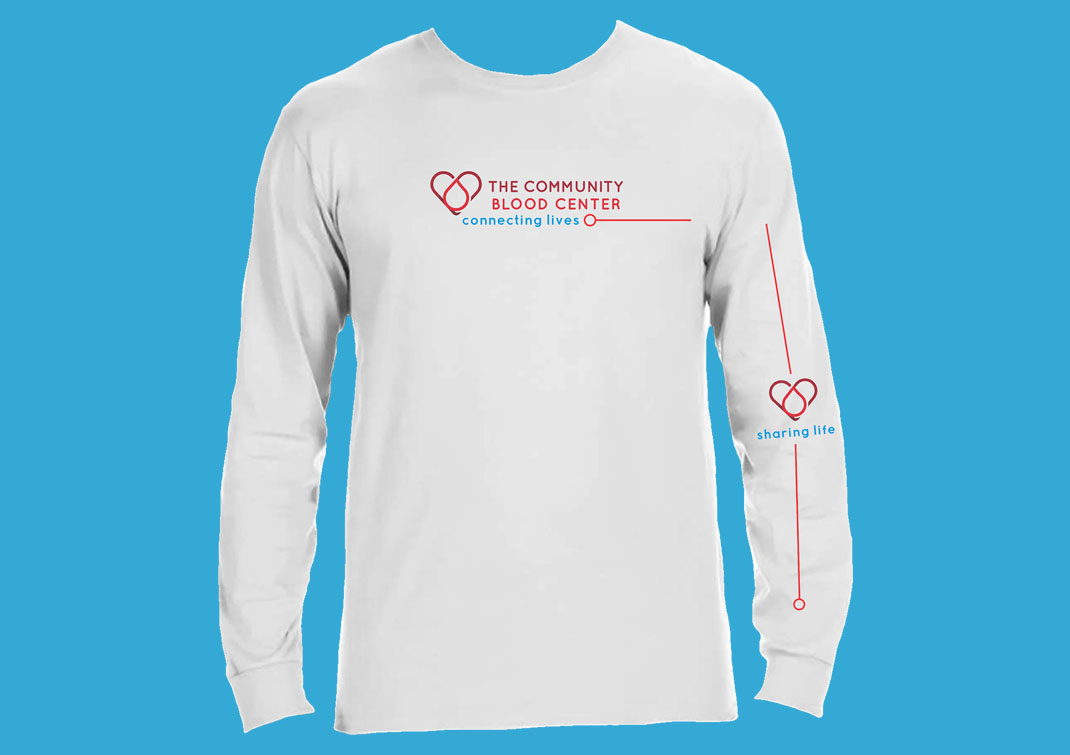 Donate and receive free t-shirt