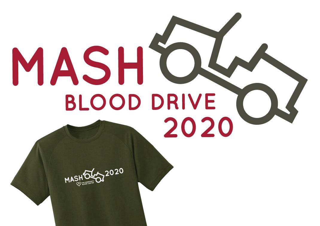 mash blood drive 2020