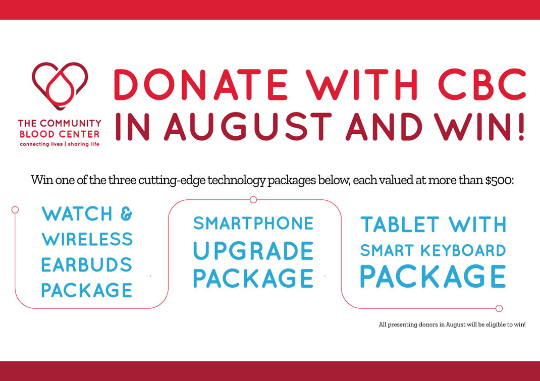 donate in august