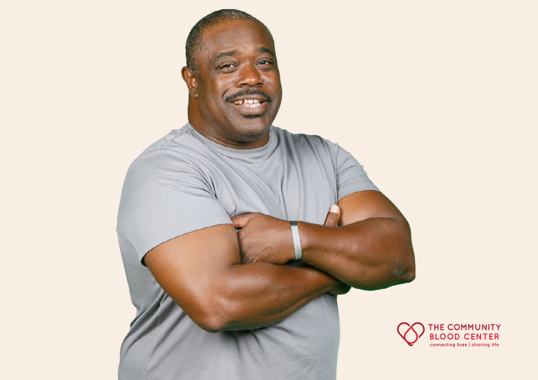 Brian has been a blood donor for nearly 3 and a half decades.
