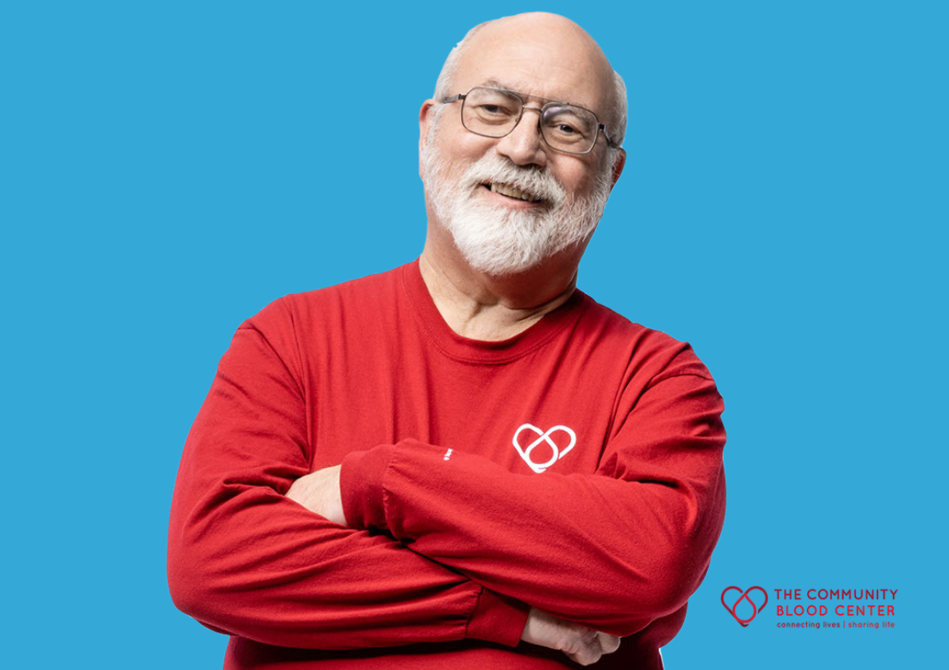 Jerry is a committed donor and dedicated volunteer at CBC.