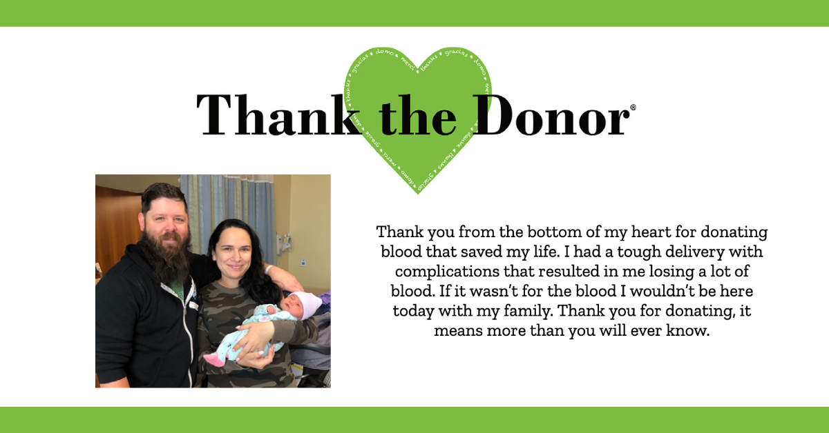thank the donor message